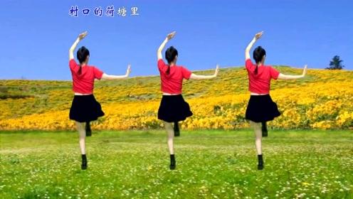 谁画的一幅画,美了你我他!每天跳一跳水兵舞,娱乐瘦身又美体