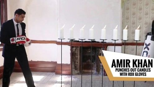 国外牛人武力值太高,可一拳熄灭12根蜡烛,网友:这有谁顶得住
