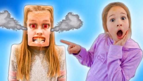 小萝莉制作了和自己一样的机器人,妹妹看到后吓坏了,差点闯祸