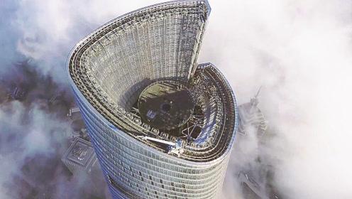 实拍上海的新楼王,高625米,厉害了我的国
