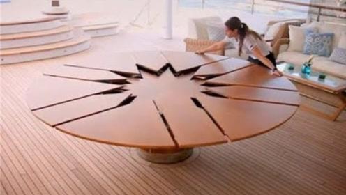最复杂的桌子,由5000个零件组成,展示过程让人大跌眼镜