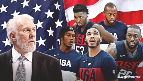 篮球世界杯美国队十佳球 米切尔连过两人双手暴扣布朗单臂大风车