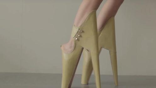 世界上最恐怖的三双高跟鞋,网友:穿上痛不欲生