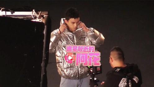 吴磊羽绒style帅气又时尚,工作再疲惫也不忘暖心宠粉