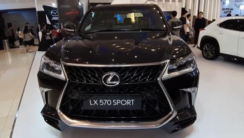 2020款雷克萨斯LX570 Sport,外观和内饰详细实拍