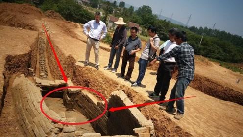 陕西农村有一怪异土堆,冬天从不积雪,考古学家撬开一看当场懵了