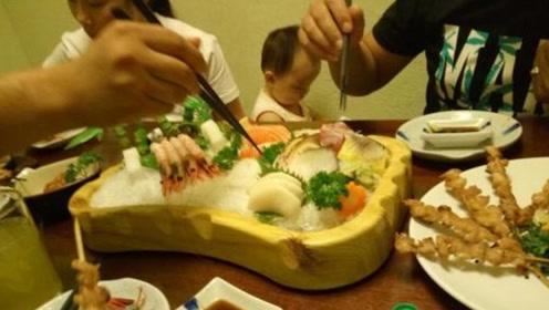 在杭州吃日料,8人花了1万6,看看菜品让平头老百姓咂舌