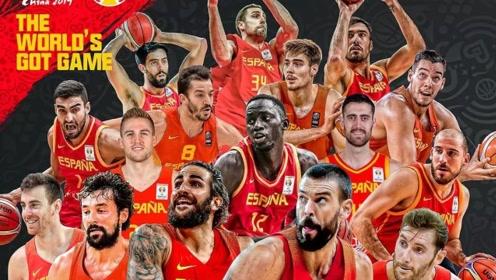 篮球世界杯西班牙十佳球 小加大帽坎帕佐卢比奥关键三分锁定冠军