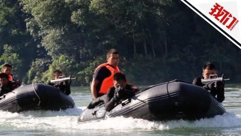 湄公河上的特战训练: 蛙人两栖作战 展现超帅战术动作