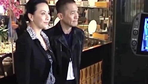梁朝伟与混血美女回酒店,被指出轨,其实美女是刘嘉玲的人