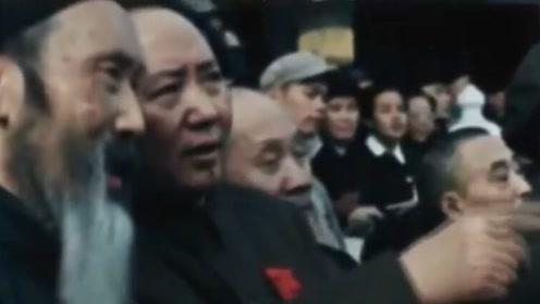 走心!俄罗斯这部纪录片拍下开国大典彩色画面 含大量珍贵影像