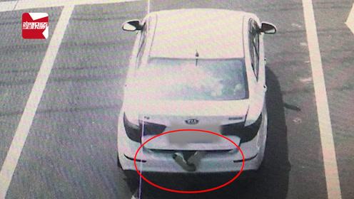 江苏一轿车后备厢伸出两只脚,打开后场景出乎意料