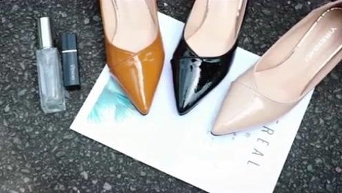 优雅时髦的猫跟鞋,掀起复古时尚潮流!