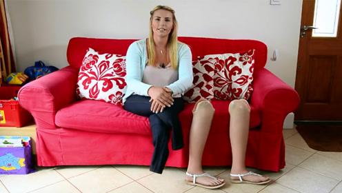这个坚强的无腿妈妈,独自一人抚养未满3岁的孩子,让人自叹不如