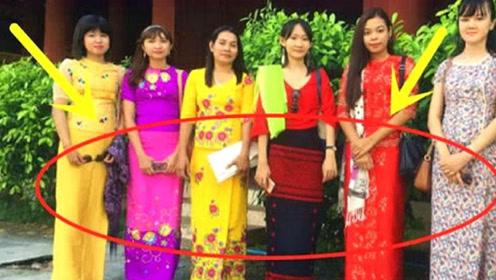 缅甸女人为什么喜欢穿筒裙?当美女把筒裙脱下后,真的是开眼了