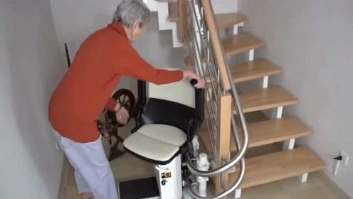 有了这个爬楼梯神器,老人们有福了,值得推广
