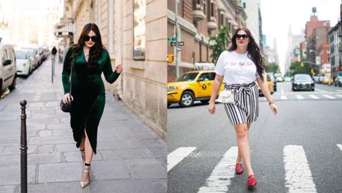 女子虽然体重200多斤美出了新高度,网友:都长对了地方