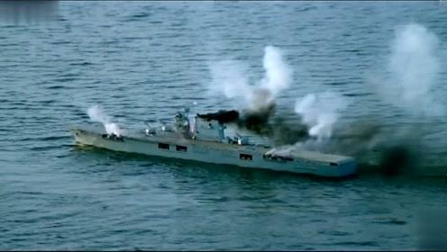 当年条件有限,用模型来做美军舰队,但这样都比现在的片子好
