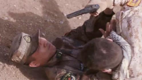 陆战之王:牛努力受枪伤,叶晓俊看到他的伤情,吓得晕了过去
