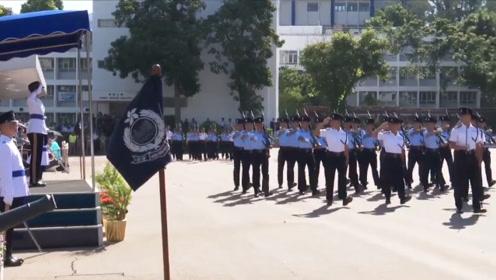 香港警察学院结业典礼 警务处:无论面对何种情况,都要坚持信念