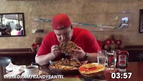 兰迪大胃王的终极猪肉汉堡限时挑战赛!