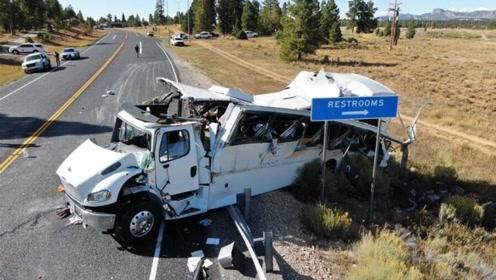 中国旅行团在美发生严重车祸:司机第一次出团 公司运营时间很短