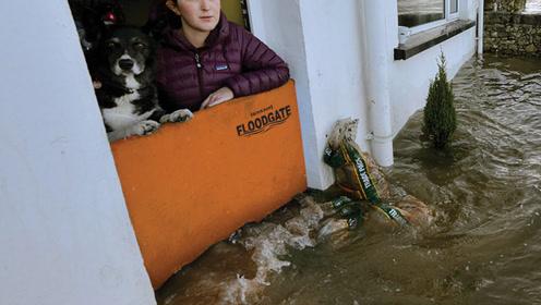 """新型""""气密""""式家用防洪板!插在门口就能挡水,比沙袋强百倍!"""