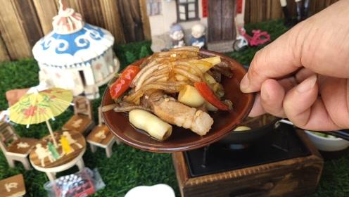 【微缩东北菜】土豆炖粉条,凉凉的秋季,感受到一种抓秋膘的喜悦