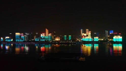 美不胜收!钱江新城这场主题灯光秀,央视都来直播