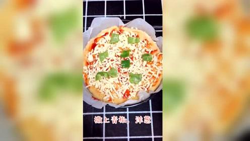 用红薯做的披萨,自己在家就能烤着吃,看一眼就令人有食欲