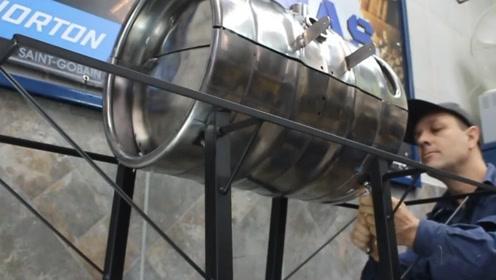 教你打造一个简易烧烤炉,节假日非常实用,那叫一个享受