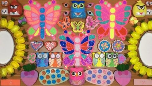 蝴蝶,小动物,菠萝太阳花史莱姆,混合起来,会出现什么呢?