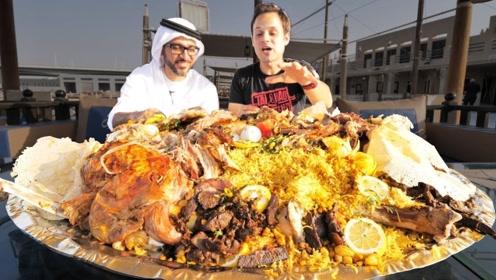 迪拜土豪都吃什么?连菜市场都与众不如,价格还都很亲民!