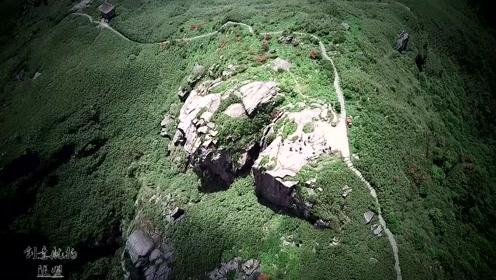 广西贺州:姑婆山到底有多险峻?看看无人机拍下的画面你就知道了