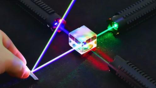 超强激光到底多可怕,老外直接用实验证明,看完吓出一身冷汗!