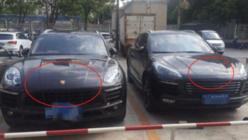 当山寨车与正版车型相遇后,网友:撞衫不可怕,撞车才尴尬!
