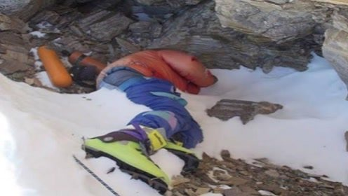 """珠穆朗玛峰最著名""""路标"""",竟然是一具遗体?每个登山者都会经过"""