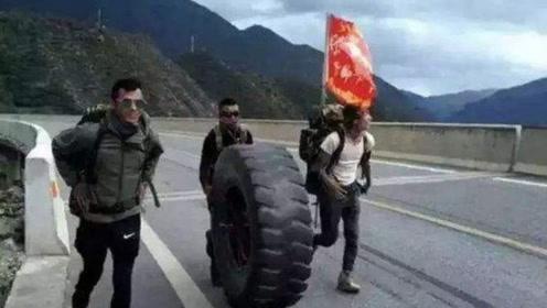 云南3小伙滚轮胎徒步川藏,一趟赚了上百万,让驴友争相模仿!