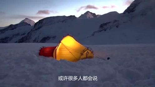 老外发明的神奇睡袋,狂风暴雨相安无事,雪山之巅也不再害怕!