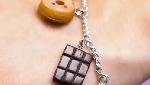 趣味小制作:做可爱巧克力手链