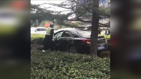 河南商丘发生一起交通事故致2死6伤 司机被当场控制