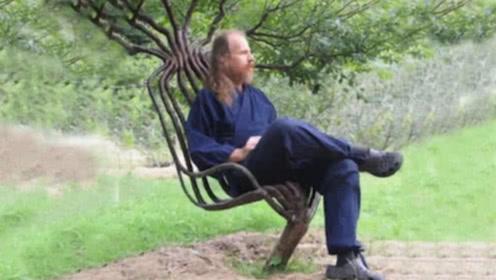 男子用10年时间,种出300把椅子,一把卖28万元供不应求!