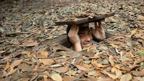 """越南发现""""地下城"""",长25万米入口不到1米,藏着一个繁华世界"""