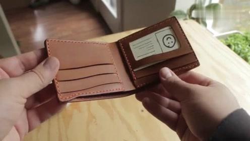 手工制作的钱包凭啥卖那么贵?看完其制作过程,真是一分钱一分货