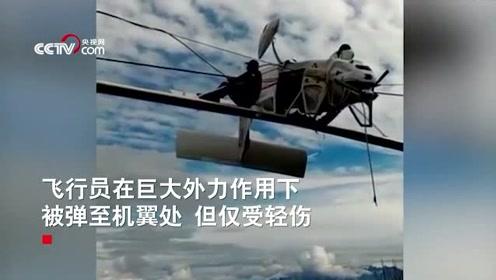 """奇迹!飞机突坠阿尔卑斯山 缆车线缆成功""""拦截""""救两命"""