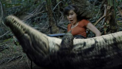 荒岛求生之巨兽来袭:7人被困荒岛,遭凶猛巨兽残忍捕杀,不敢看!