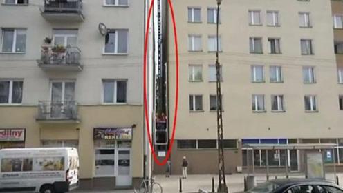 """藏在夹缝中的""""豪宅"""",最宽处仅有1.2米,内部装修惊艳世界"""