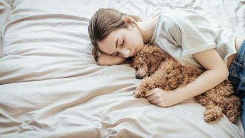 美女天天抱着狗狗睡觉,突然感觉身体不适,医院检查真相让人吃惊