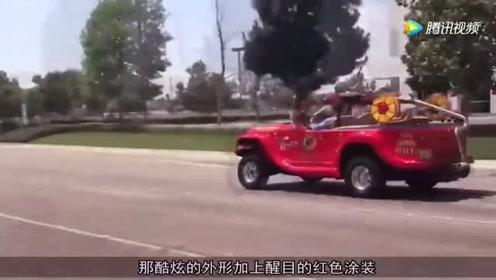 全球最小两栖消防车,没水了跑河里罐,水上速度超快艇,太厉害了啊