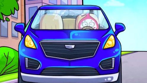 男生送了女生一辆车,女生开车去购物,却发生了一连串的事情
